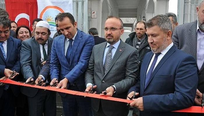 AK Partili Turan, Balıkçılık İdari Binasını Hizmete Açtı