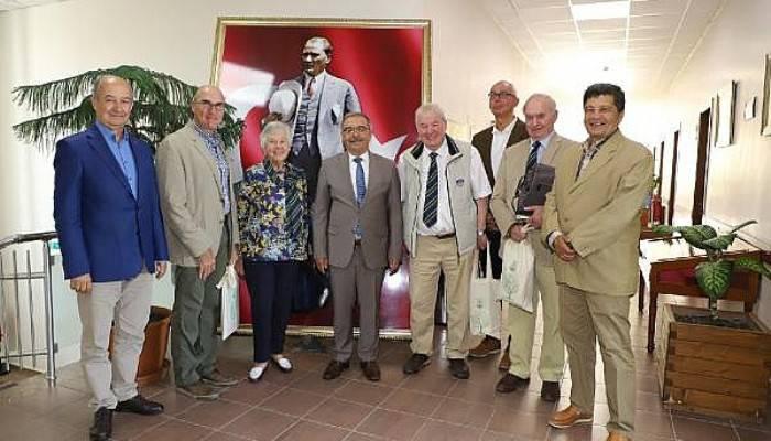 Gallipoli And Dardanelles International Derneği'nden Başkan Özacar'a Ziyaret