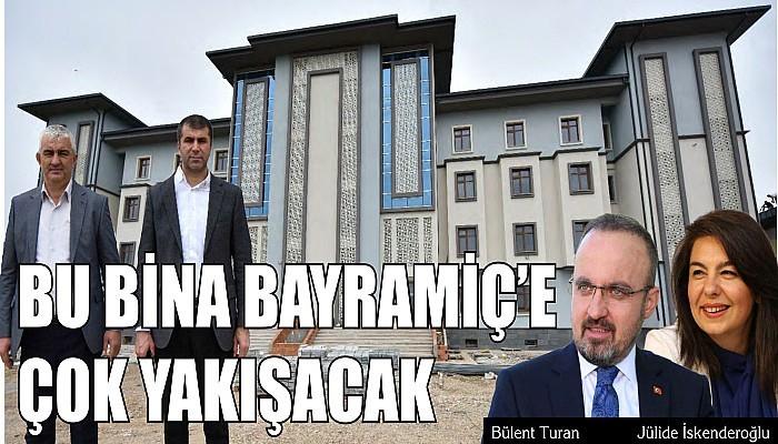 Bu Bina Bayramiç'e Çok Yakışacak