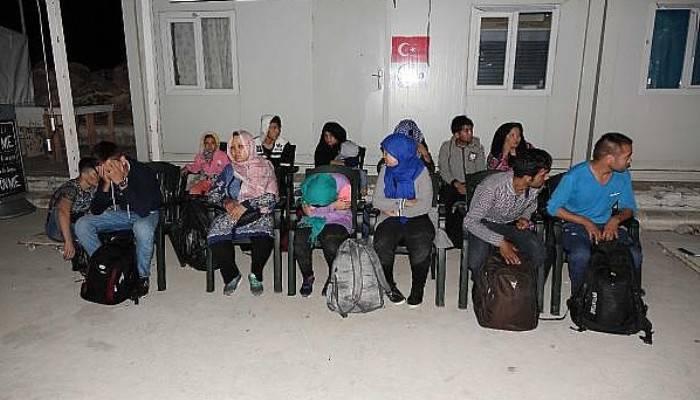 Botları Arızalanan Göçmenleri Sahil Güvenlik Kurtardı