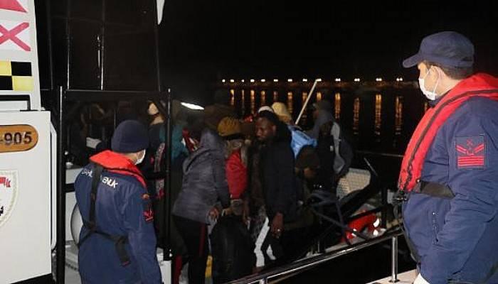 Sahil Güvenlik, Ayvacık'taDenize Açılan 45Göçmeni Durdurdu