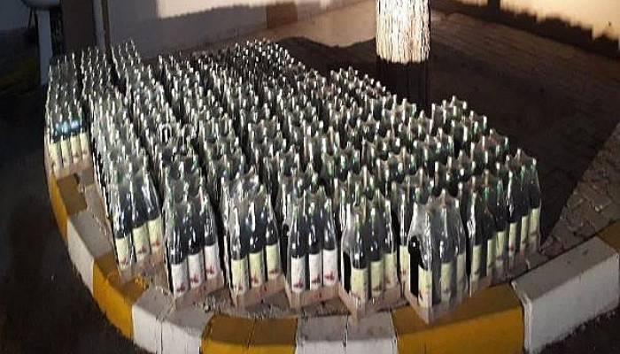 Çanakkale'de 726 Şişe Mükerrer Bandrollü Şarap Ele Geçirildi