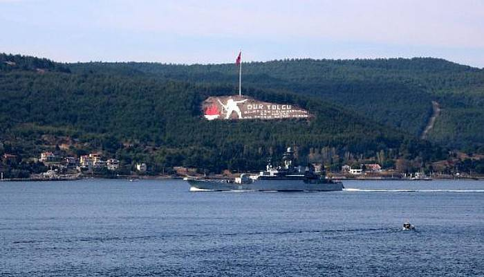 Rus Savaş Gemisi 'Azov' Akdeniz'e İniyor