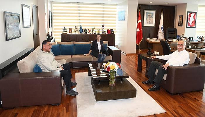 Başkan Gökhan'a Tebrik Ziyaretleri Devam Ediyor
