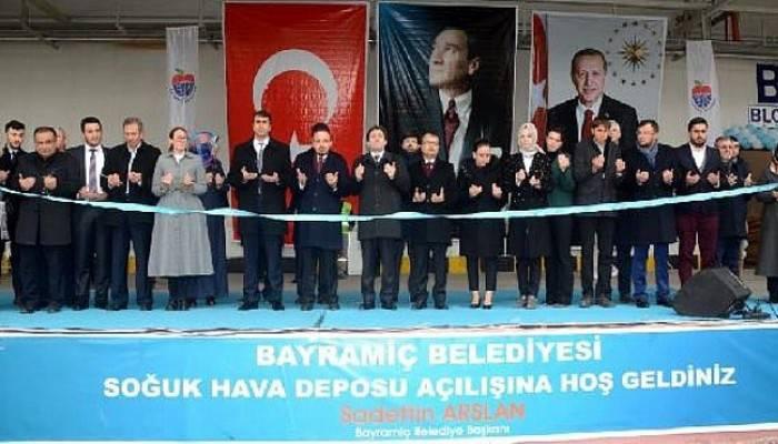Bayramiç Belediyesi Soğuk Hava Deposu'nun Açılışı Yapıldı