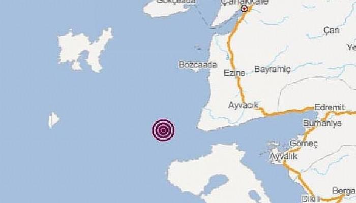 Ayvacık Açıklarında 3.8 Büyüklüğünde Deprem