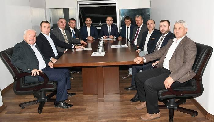 Turan, Belediye Başkanları İle Birlikte Toplantı Yaptı