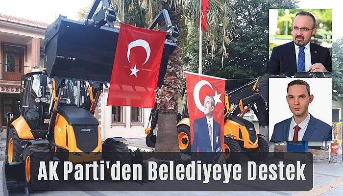 Turan'ın Girişimi İle Belediyeye 2 Yeni Kepçe Alındı