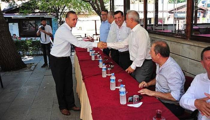 Çanakkale'de CHP Bayramlaştı