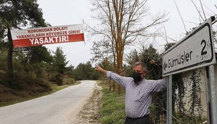 Köye Yabancı Girişi Yasaklandı, Vaka Sıfırlandı