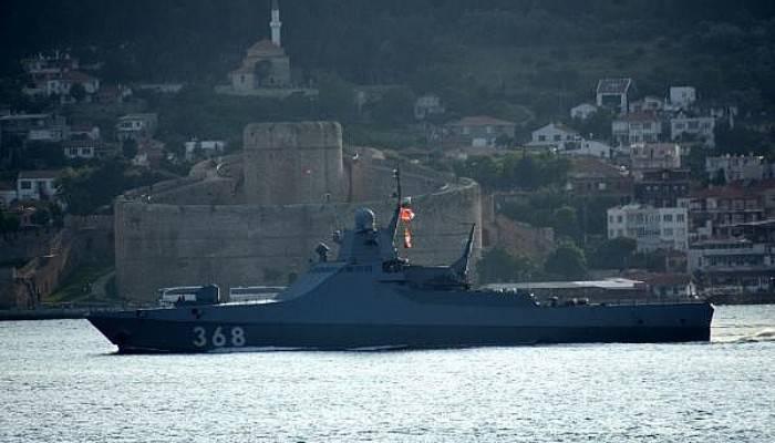 Rus Devriye Gemisi 'Vasily Bykov' Akdeniz'e İniyor