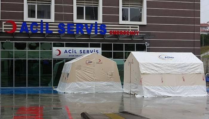Çanakkale'de 2 'Pandemi Hastanesi' Oluşturuldu
