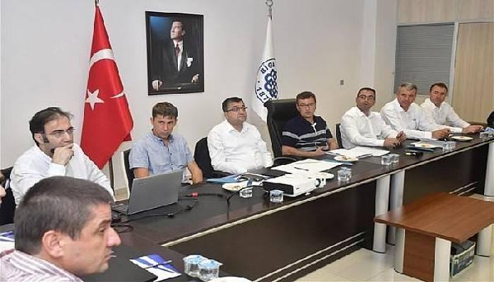 Biga Belediyesi'nde BİÇAY Toplantısı Gerçekleştirildi
