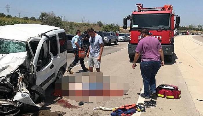 Gelibolu'da İki AraçÇarpıştı; Sürücüler Öldü