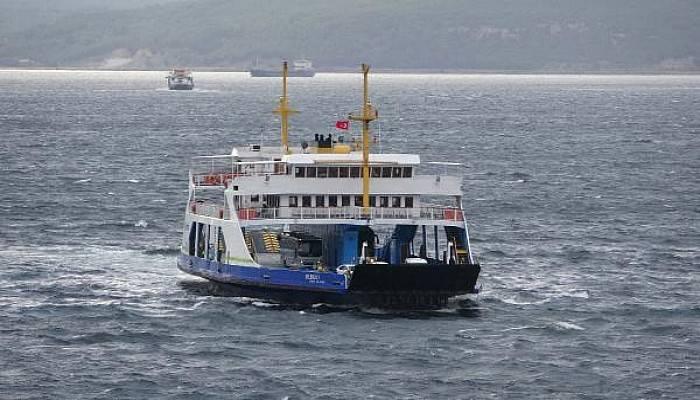 Gökçeada ile Güney Marmara Hattında Feribot Seferleri İptal