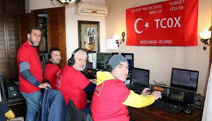 TRAC İzmir Şubesi, Bozcaada'dan Telsizle Dünyayla İletişim Kurdu