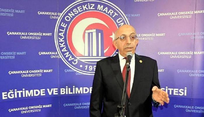 ÇOMÜ Rektörü Murat: Terör Düşüncesi Özgürlük Değildir