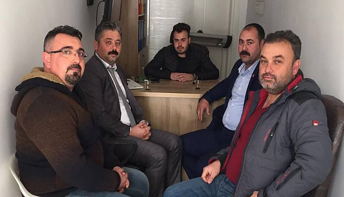 Başkan Uygun'dan Gazetemize Ziyaret