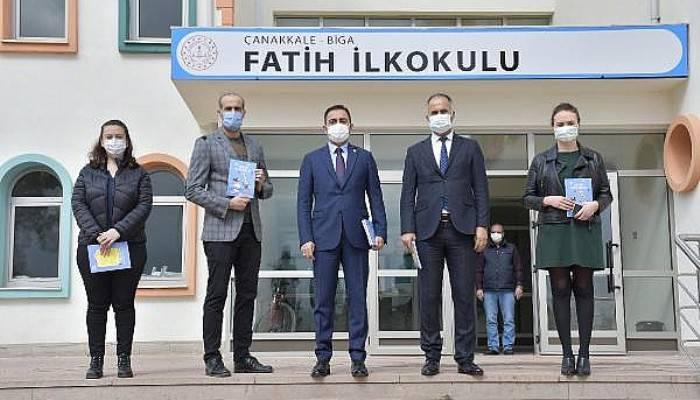 Çocukların İlk Kitap Günlüğü Belediye Başkanı Erdoğan'dan