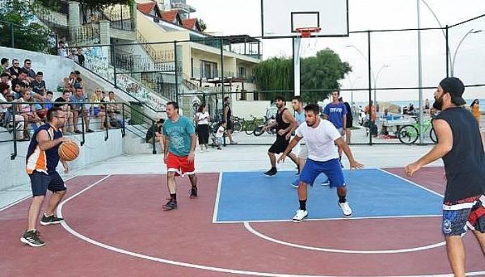 Gelibolu'da Sokak Basketbolu Heyecanı Yaşandı