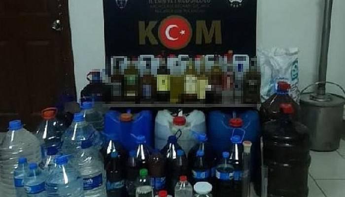 Emekli Kimyager, Bağ Evini Alkol İmalathanesine Çevirmiş