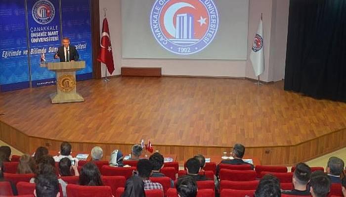 ÇOMÜ'de,'Baltıklar'dan Mançurya'ya Rusya' Konferansı Düzenlendi