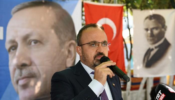 AK Parti'li Turan: 'Bu Süreci Birlik ve Beraberlik İçinde Aşacağız'