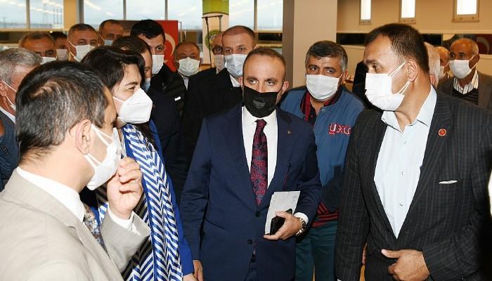AK Partili Turan, Ezine Küçük Sanayi'yi Ziyaret Etti