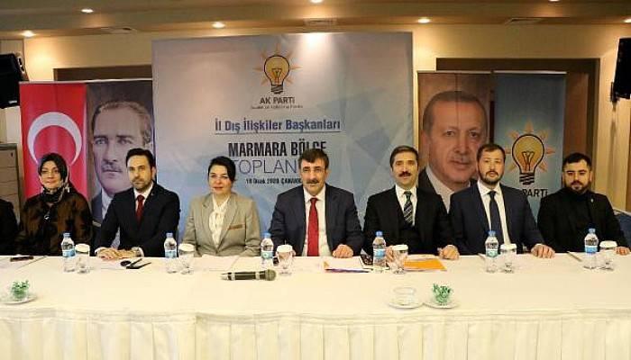 AK Parti'li Yılmaz:Akdeniz'de ve Doğu Akdeniz'de Oyunları Bozduk