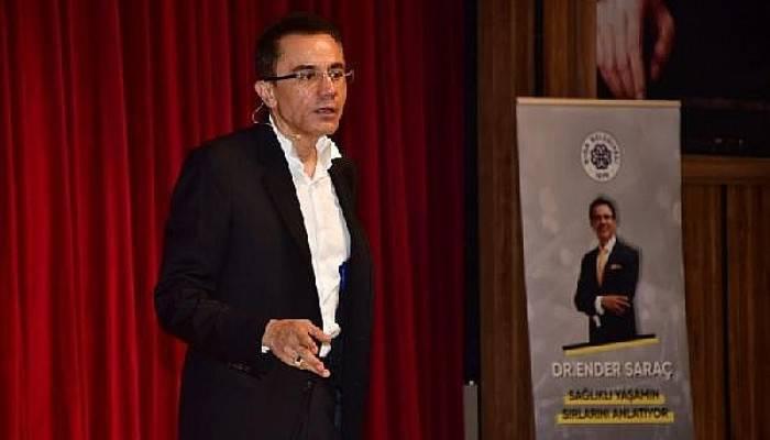 Dr. Ender Saraç, Biga'da Sağlıklı Yaşamın Sırlarını Anlattı
