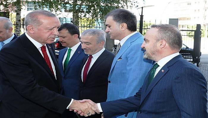 Turan, Cumhurbaşkanı Erdoğan İle Liderler Zirvesine Gidiyor