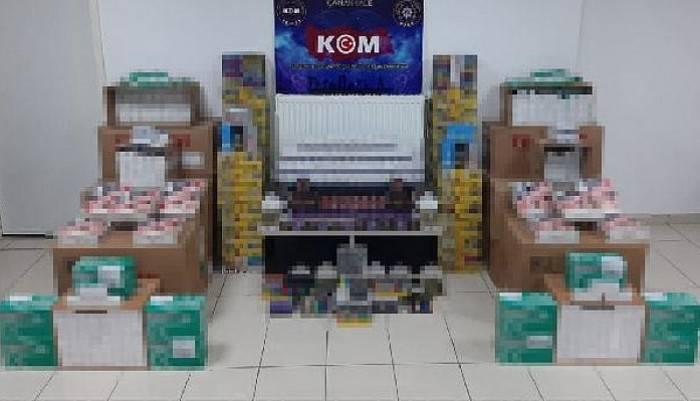 Çanakkale'de Cinsel İçerikli Ürün ve Kaçak İlaç Operasyonu