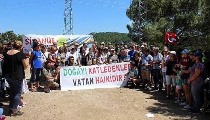 Kaz Dağları'nda Maden Faaliyetine Tepki Gösteren Çevrecilerden'Su Nöbeti'