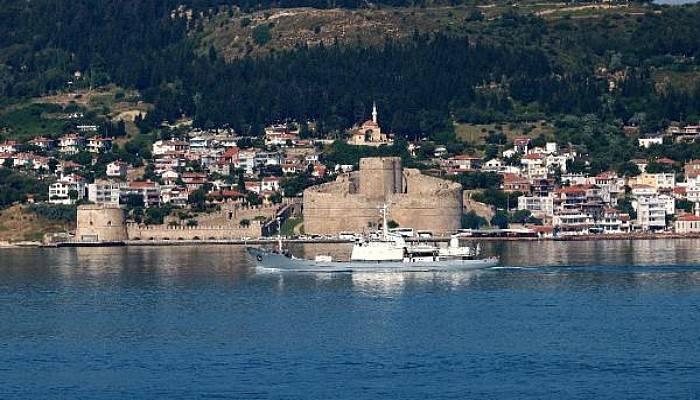 Rus İstihbarat Gemisi 'Kildin', Akdeniz'e İniyor