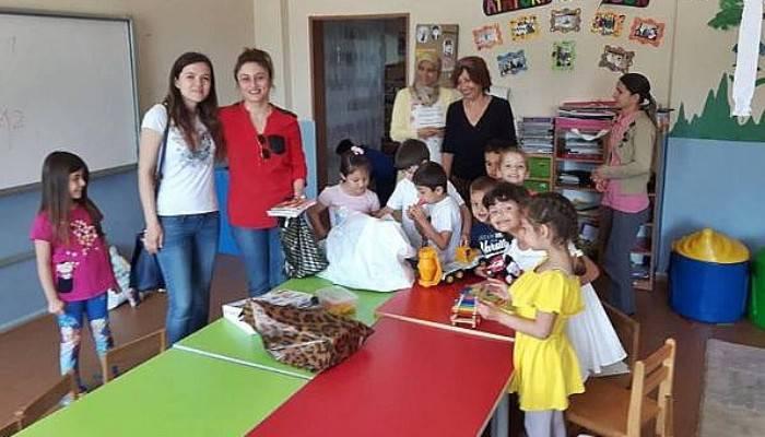 Eğitim-İş'ten Gelibolu'daki Anasınıflarına Oyuncak Desteği