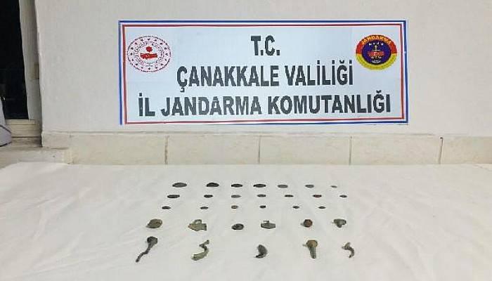 Çanakkale'de Tarihi Eser Kaçakçılığı Operasyonuna 2 Gözaltı