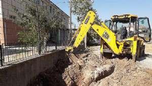 Belediye Okulun Kanalizasyonunu Bağlamayı Unutmuş