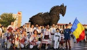 2'nci Uluslararası Çanakkale Troya Halk Dansları Festivali Başladı