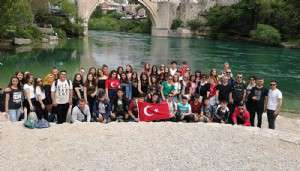 Bayramiçli Öğrenciler Bosna'da