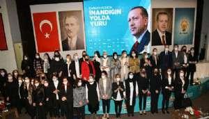 AK Parti Çanakkale İl Kadın Kolları 6'ncı Olağan Kongresi Yapıldı