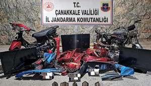 Motosiklet Hırsızlığı Şüphelileri Yakalandı