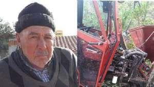 Traktör Kazasında Yaralanan Çiftçi İçin Ambulans Helikopter Havalandı