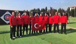 Okçuluk Milli Takımı, Dünya Şampiyonası'na Gelibolu'da Hazırlanıyor
