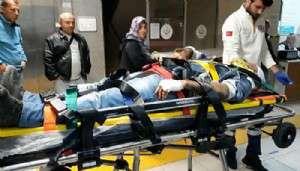 Bayramiç'te, Eşekten Düşen Kişi Ağır Yaralandı