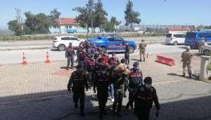 Jandarmadan Organize Suç Örgütüne Darbe: 11 Tutuklama